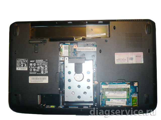 HDD Acer Aspire 5738G